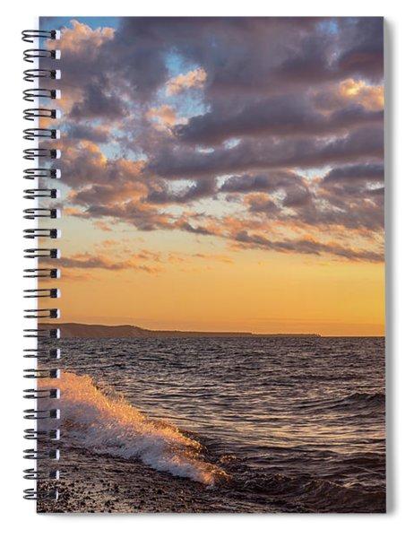 Springtime On Agate Beach Spiral Notebook