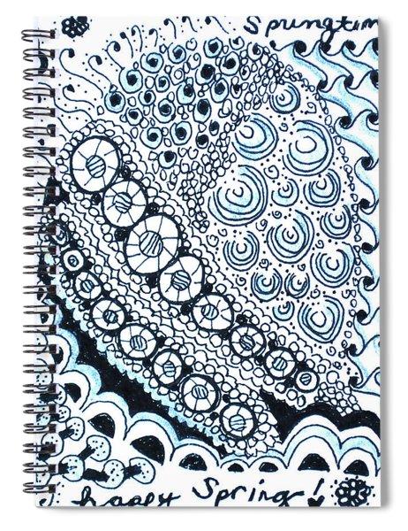 Springtime Spiral Notebook