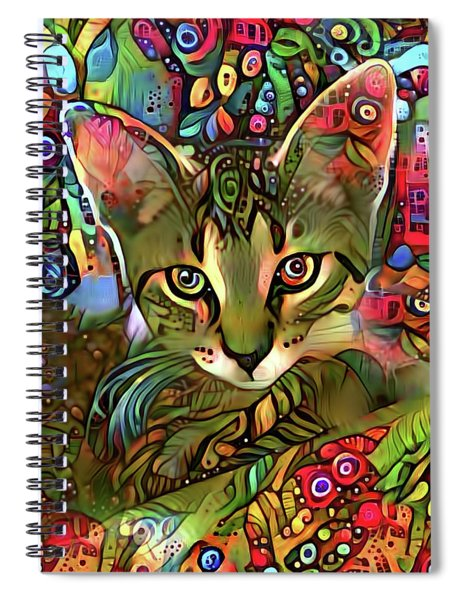 Sprocket The Tabby Kitten Spiral Notebook