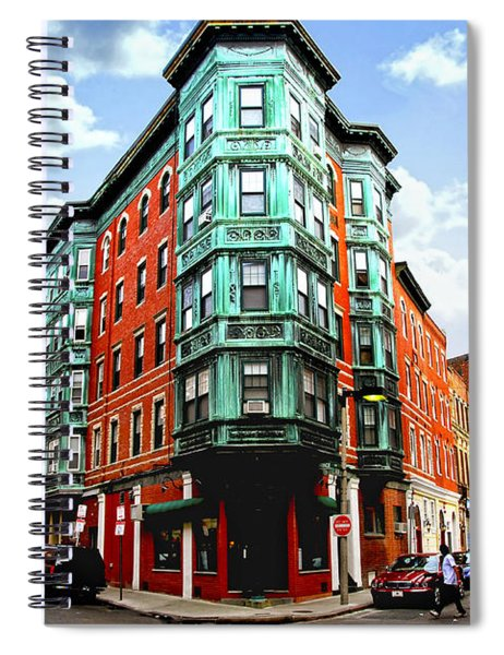 Square In Old Boston Spiral Notebook
