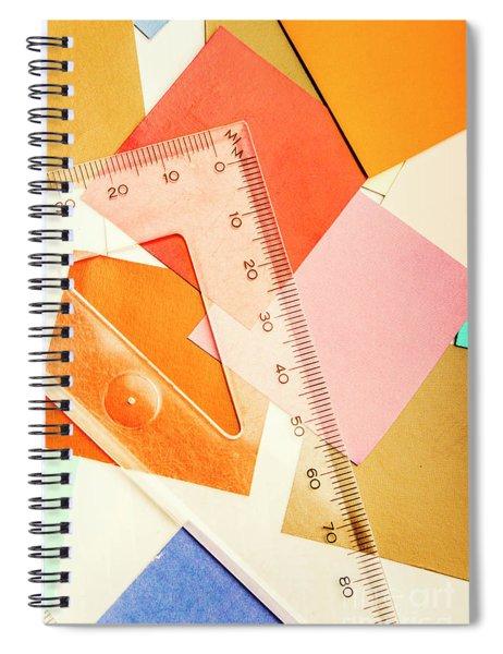 Squaring A Triangular Rule Spiral Notebook