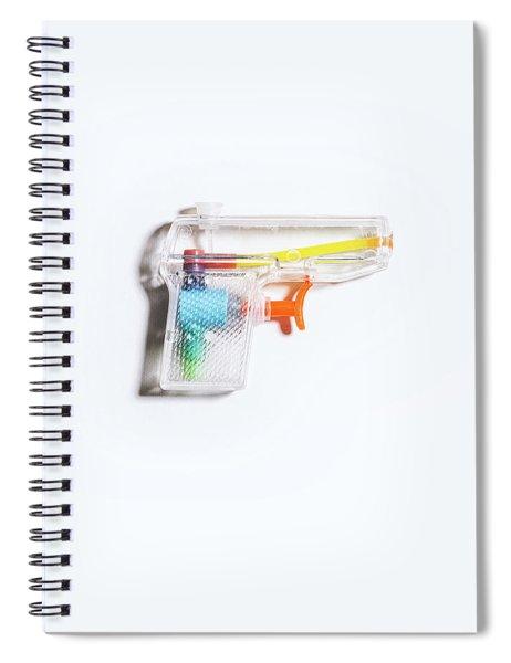 Squirt Gun Spiral Notebook