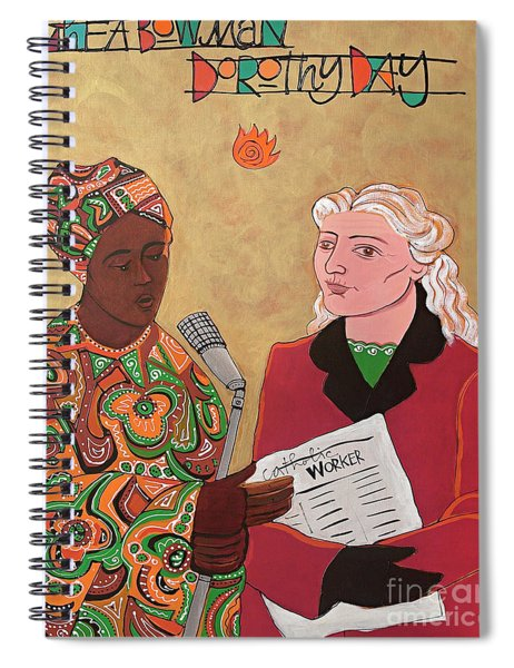Sr. Thea Bowman And Dorothy Day - Mmtbd Spiral Notebook