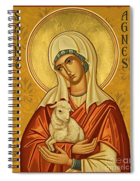 St. Agnes - Jcagn Spiral Notebook