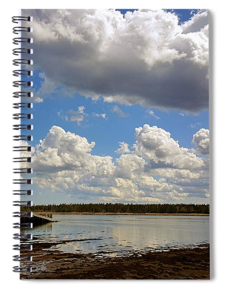 St. Andrews At Low Tide Spiral Notebook