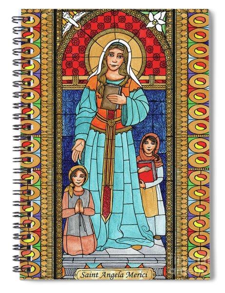 St. Angela Merici Spiral Notebook
