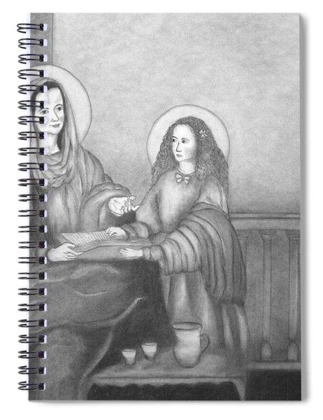 St. Anne And Bvm Spiral Notebook