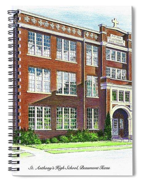 St. Anthony's High School Spiral Notebook