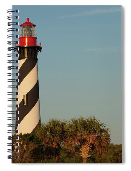 St. Augustine Lighthouse #3 Spiral Notebook