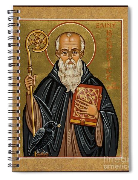 St. Benedict Of Nursia - Jcbnn Spiral Notebook