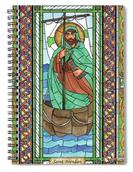 St. Brendan Spiral Notebook