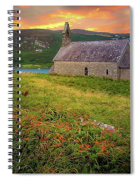 St. Brendan The Navigator Church Of Ireland In Crookhaven Spiral Notebook