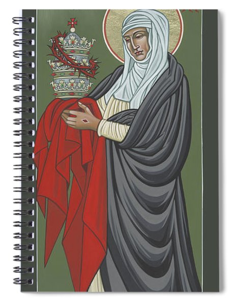 St Catherine Of Siena- Guardian Of The Papacy 288 Spiral Notebook