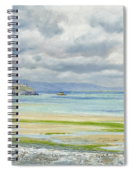 St. Catherine's Isle Spiral Notebook