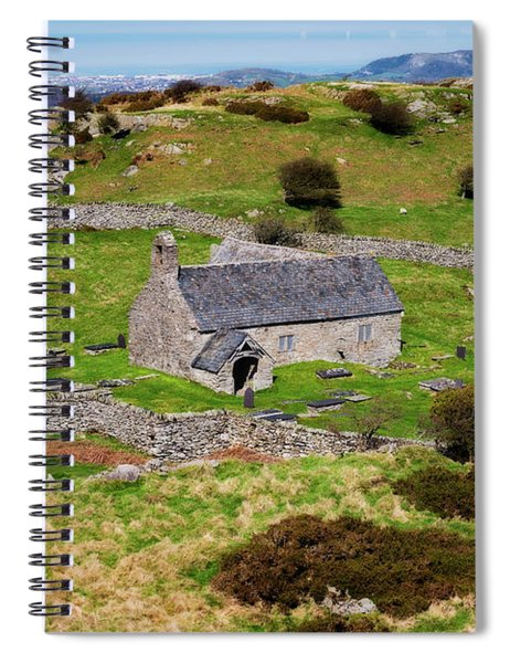 St Celynnins Old Church, Llangelynnin Spiral Notebook