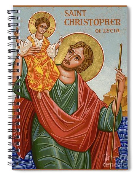 St. Christopher - Jccst Spiral Notebook