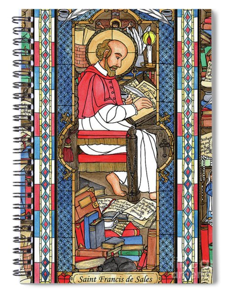 St. Francis De Sales Spiral Notebook