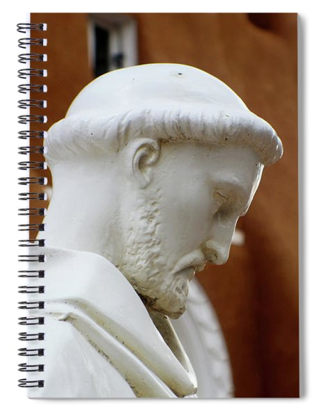 St. Francis Of Asisi Spiral Notebook