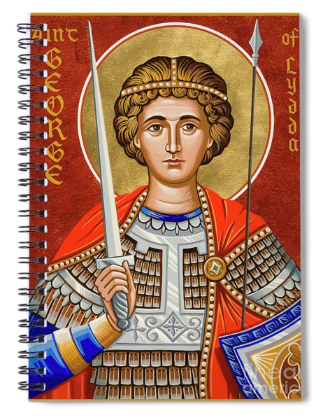 St. George Of Lydda - Jcgly Spiral Notebook