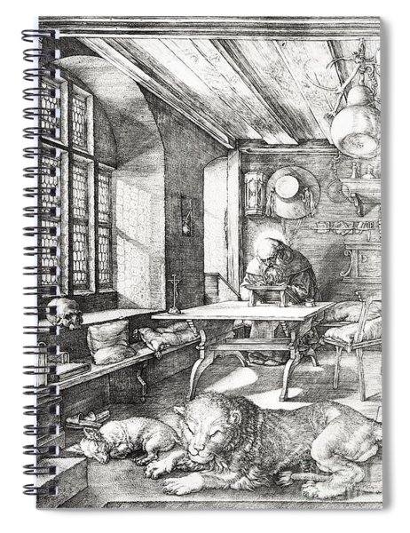 St Jerome In His Study Spiral Notebook