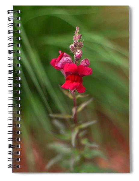 St. Johns Park Flower 872 Spiral Notebook