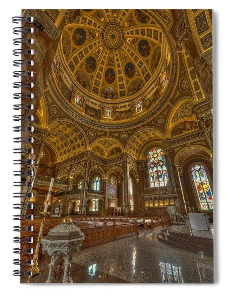 St Josaphat Basilica Milwaukee W I Spiral Notebook