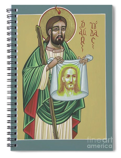 St Jude Patron Of The Impossible 287 Spiral Notebook