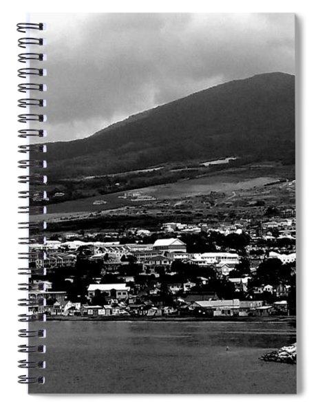 St. Kitts Beautiful Caribbean Island  Spiral Notebook