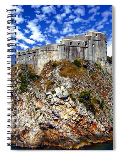 St. Lawrence Fortress Spiral Notebook