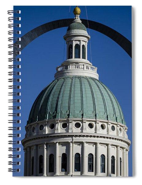 St. Louis Arch Spiral Notebook
