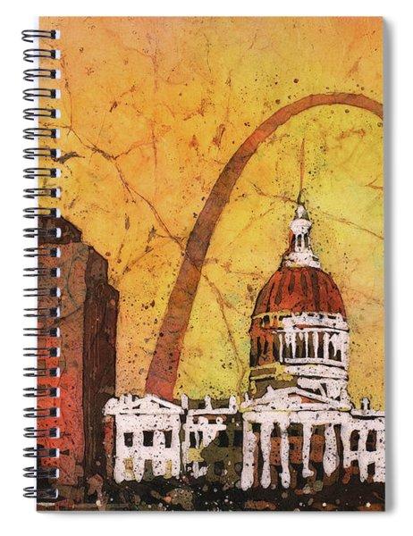 St. Louis Archway Spiral Notebook