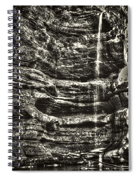 St Louis Canyon At Starved Rock State Park Spiral Notebook