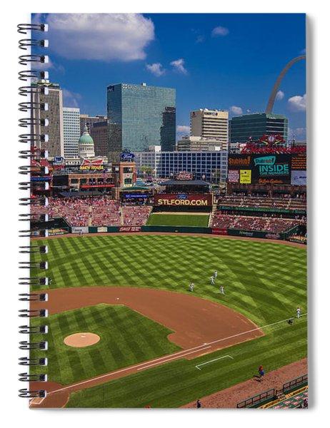 St. Louis Cardinals Busch Stadium Creative 16 Spiral Notebook