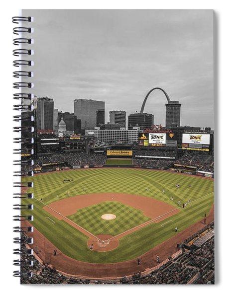St. Louis Cardinals Busch Stadium Creative 17 Spiral Notebook