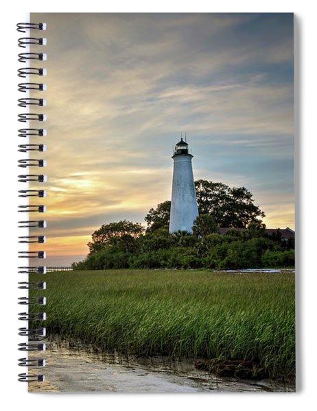 St. Mark's Lighthouse Spiral Notebook