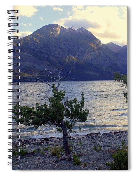 St. Mary Lake Spiral Notebook