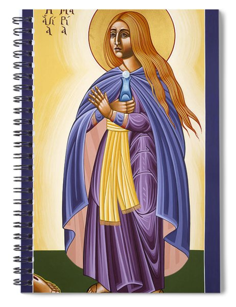 St Mary Magdalen Equal To The Apostles 116 Spiral Notebook