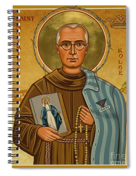St. Maximilian Kolbe - Jckol Spiral Notebook