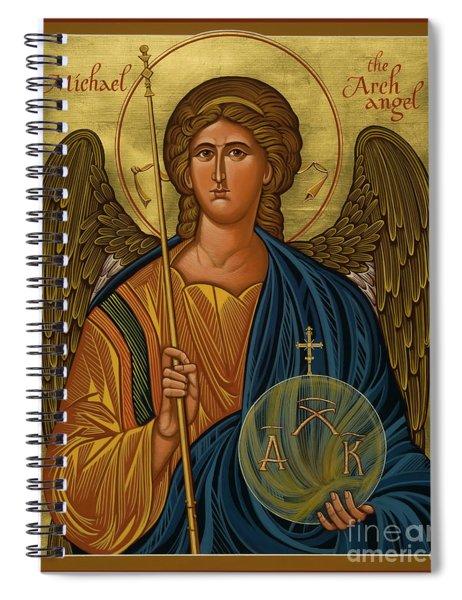 St. Michael Archangel - Jcmik Spiral Notebook