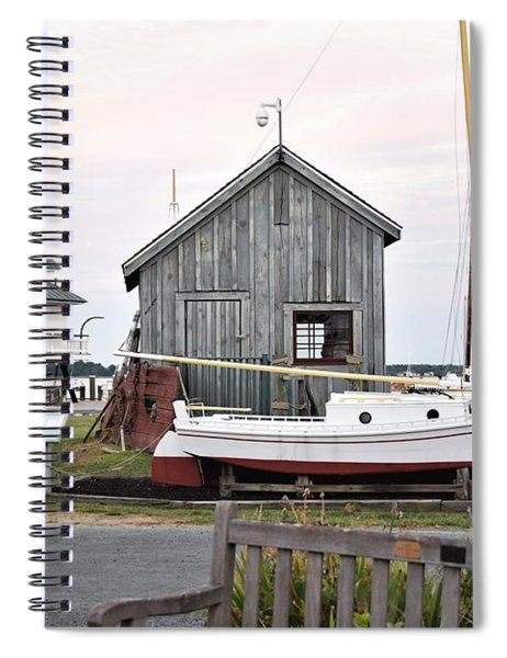 Hoopers Lighthouse Spiral Notebook