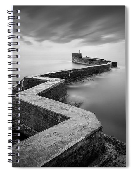St Monans Breakwater Spiral Notebook