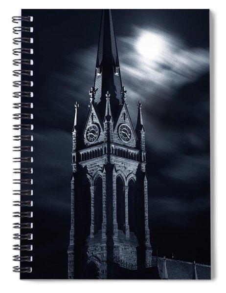 St Nicholas Church Wilkes Barre Pennsylvania Spiral Notebook