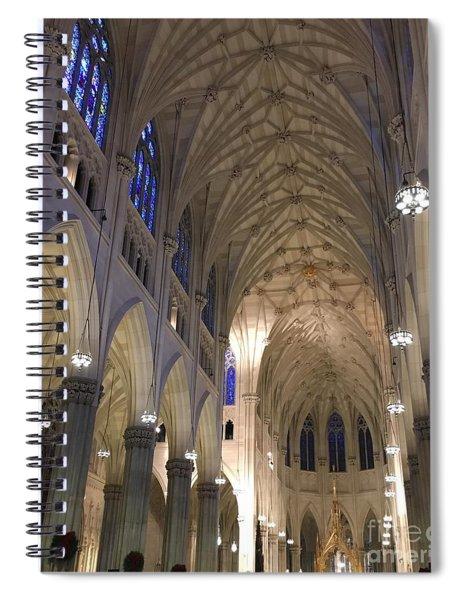 St. Patricks Cathedral Main Interior Spiral Notebook