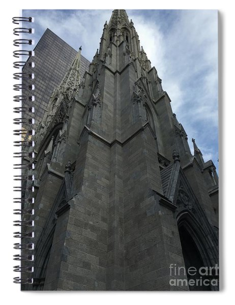 St. Patricks Cathedral Perspective Spiral Notebook