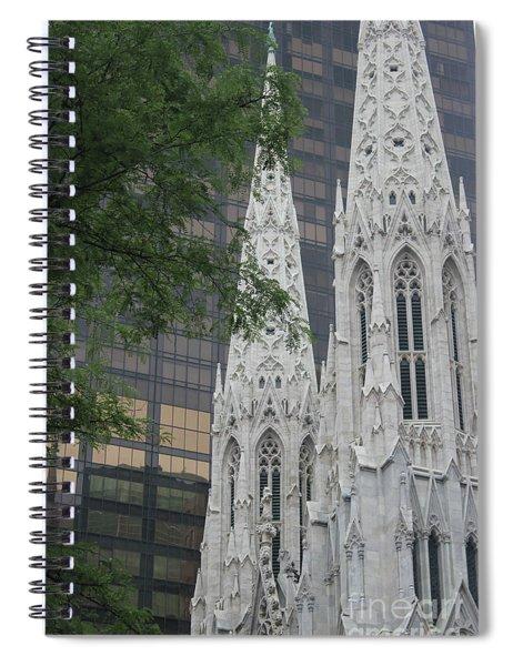 St Patricks Cathedral Spiral Notebook