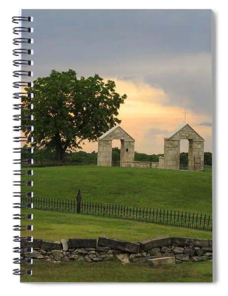 St. Patrick's Mission Church Memorial Spiral Notebook
