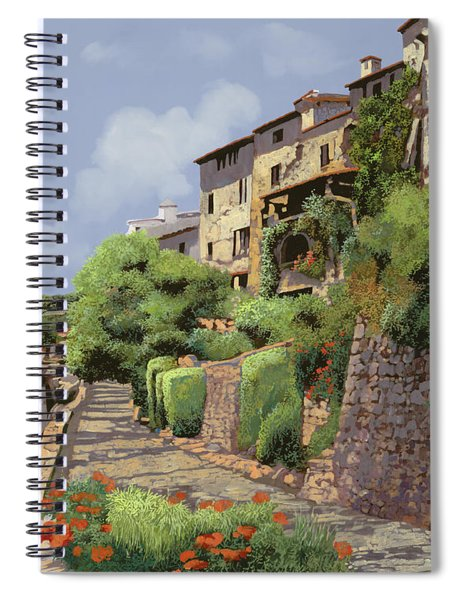 St Paul De Vence Spiral Notebook