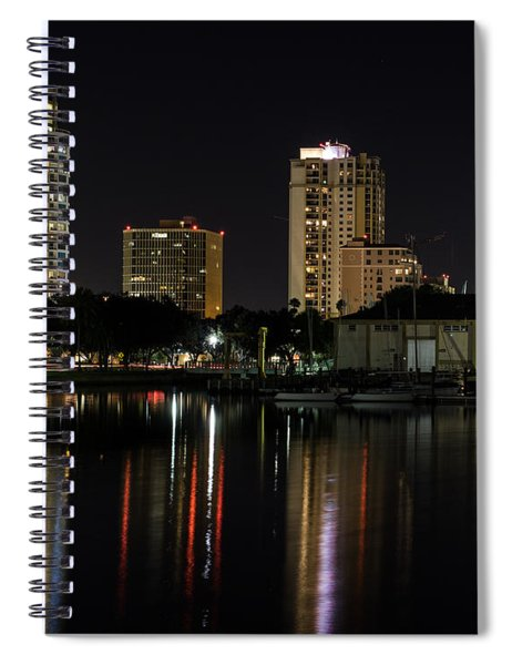 St. Pete At Night Spiral Notebook