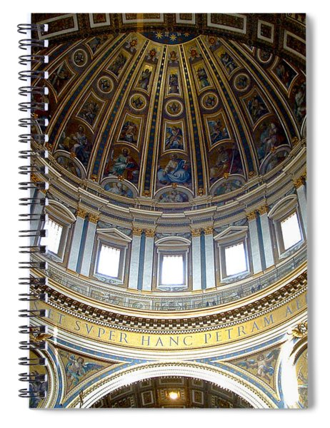 St. Peters Basilica Dome Spiral Notebook