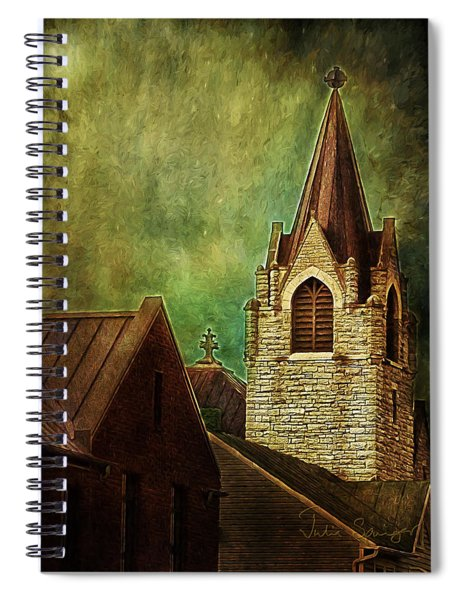 St Peter's By Night Spiral Notebook